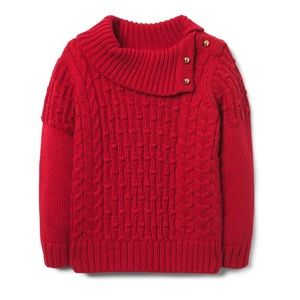 janie and jack holiday red sweater